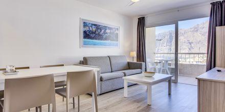 Lägenhet på hotell Vigilia Park i Los Gigantes på Teneriffa, Kanarieöarna.