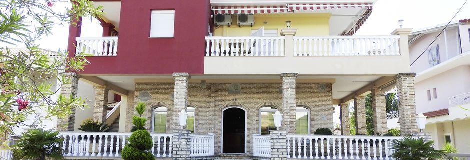 Hotell Villa Andreas i Ammoudia, Grekland.