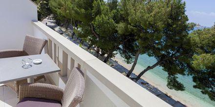Tvårumslägenhet på Villa Ankora på Makarska Rivieran i Kroatien.