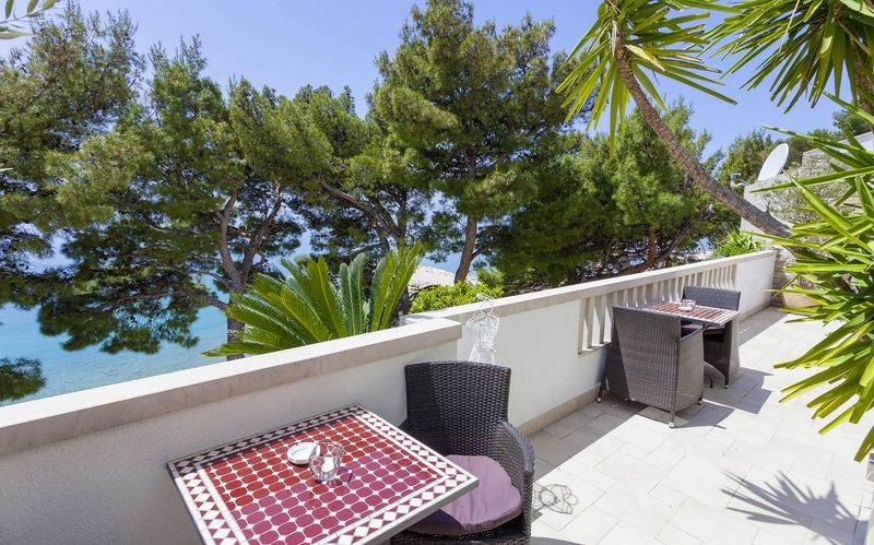 Villa Ankora på Makarska Rivieran i Kroatien.