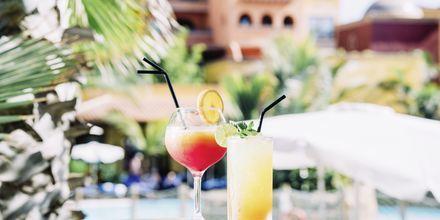 Drink på Villa Cortés i Playa de las Americas, Teneriffa.