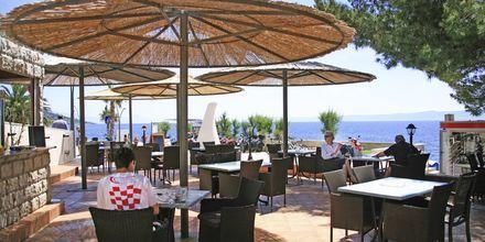 Restaurangen på Villa Dzamonja i Brac, Kroatien.
