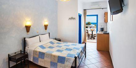 Enrumslägenhet på Villa Eleftheria i Perivolos, på Santorini.