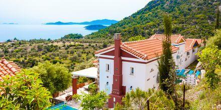 Hotell Villa Eleonas i Votsalakia på Samos, Grekland.