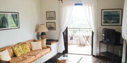 Trerumslägenhet på hotell Villa Heivi, Sivota.
