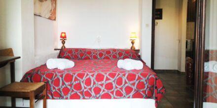 Tvårumslägenhet på hotell Villa Heivi, Sivota.