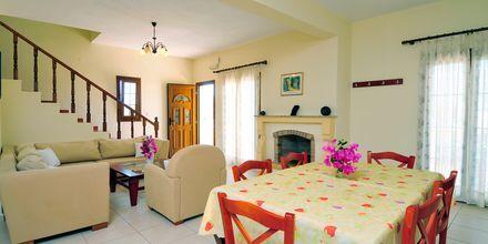 Trerumslägenhet på Villa Ostria på Leros, Grekland.