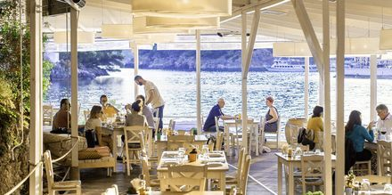Restaurang på Villa Rossa Area Boutique Beach Resort i Parga.