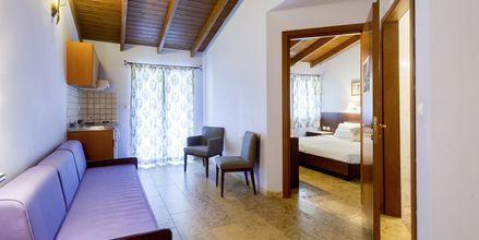 Tvårumslägenheter på hotell Villa Vaso i Parga, Grekland.