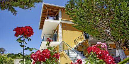 Hotell Villa Vaso i Parga, Grekland.