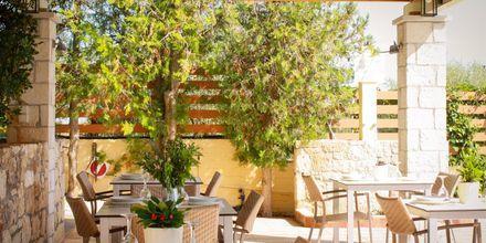 Snackbar på Villa Vicky i utkanten av Hersonissos, Kreta.