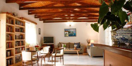 Lobby på Villa Vicky i utkanten av Hersonissos, Kreta.