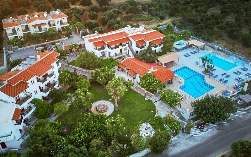 Villa Vicky i utkanten av Hersonissos, Kreta.