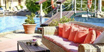 Poolområdet på hotell Villas Duc, Rhodos.