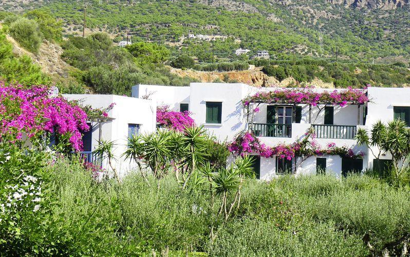 Hotell Villea Village i Makrigialos på Kreta.