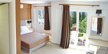 Dubbelrum på hotell Vliho Bay Boutique Hotel på Lefkas, Grekland.