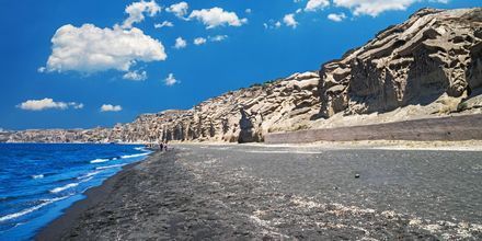 Vlychada på Santorini, Grekland.