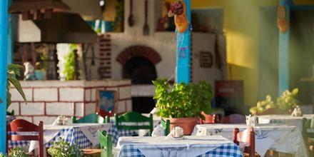 Restaurang i Votsalakia på Samos, Grekland.