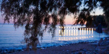 Kväll i Votsalakia på Samos, Grekland.