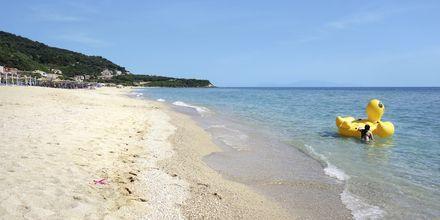 Stranden i Vrachos, Grekland.