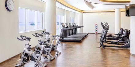 Gym på hotell Waldorf Astoria Dubai Palm Jumeirah i Dubai.