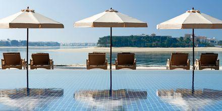 Pool på Waldorf Astoria Dubai Palm Jumeirah i Dubai.