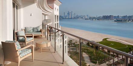 Balkong med fantastisk utsikt i Deluxerum.