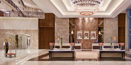 Lobbyn på Waldorf Astoria Dubai Palm Jumeirah i Dubai.