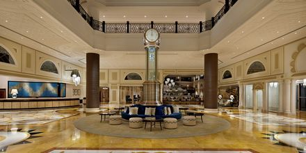 Lobby på Waldorf Astoria Ras Al Khaimah.