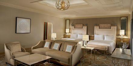 Dubbelrum/deluxerum på Waldorf Astoria Ras Al Khaimah.