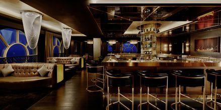 Baren 17 Squared på Waldorf Astoria Ras Al Khaimah.