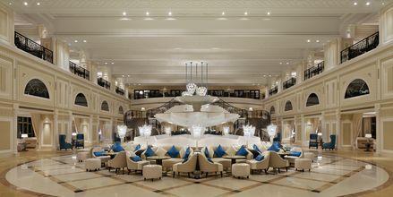 Peacock lounge på Waldorf Astoria Ras Al Khaimah.
