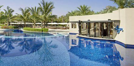 Pool på Waldorf Astoria Ras Al Khaimah.