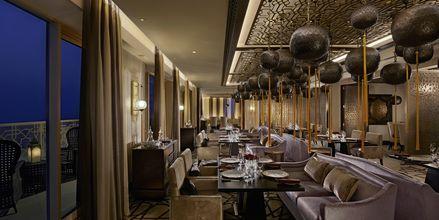 Restaurang Marjan på Waldorf Astoria Ras Al Khaimah.