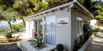 Receptionen på Waterman Beach Village Bungalow, Brac, Kroatien.