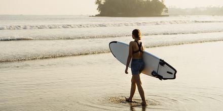 Weligama Bay är en bra plats för att prova på surfing.