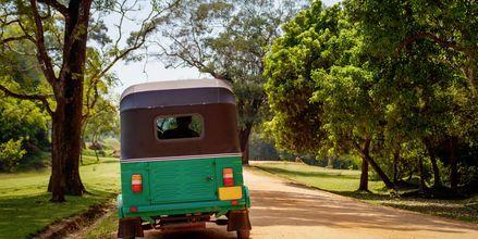 Tuktuk i Sri Lanka.
