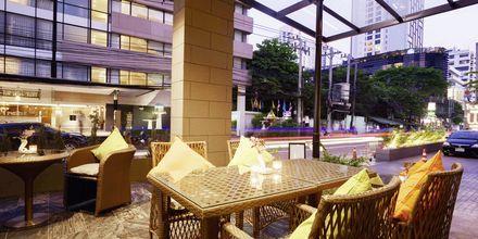 The Twist Restaurant på hotell Well i Bangkok, Thailand.