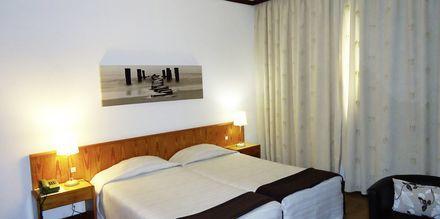 Dubbelrum på hotell Windsor i Funchal på Madeira.