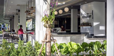 Bufférestaurangen på hotell X10 Khao Lak, Thailand.