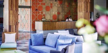 Receptionen på hotell X10 Khao Lak, Thailand.