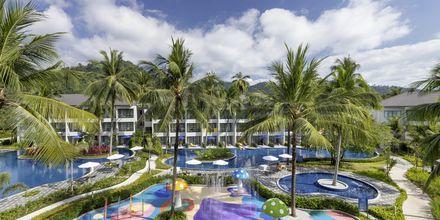 Barnpoolen på hotell X10 Khao Lak, Thailand.