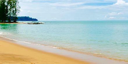 Stranden vid hotell X10 Khao Lak.
