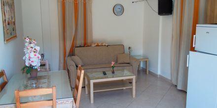 Enrumslägenhet på hotell Yallos i Lefkos på Karpathos, Grekland.
