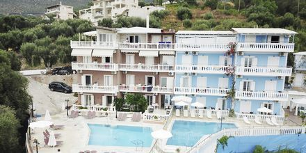 Hotell Yiannis Kanalis i Parga, Grekland.