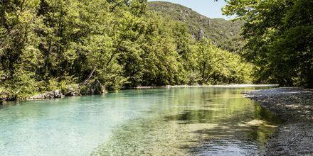 Voidomatisfloden i Zagoriaområdet.
