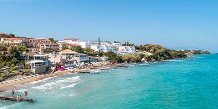 Stranden i Tragaki på Zakynthos, Grekland.