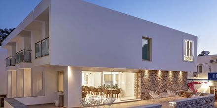 Hotell Zephyros på Kalymnos, Grekland.