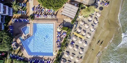 Översiktsbild på hotell Zephyros Beach Boutique, Kreta.